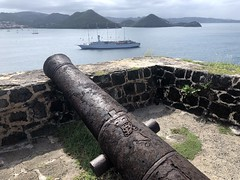 Canon at Fort Rodney, Pigeon Island