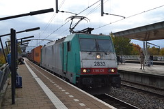 SNCB 2833 / NS 186225 (Will Swain) Tags: amsterdam centraal 10th november 2018 zwijndrecht netherlands transport travel europe train trains rail railways railway nl continent eu station sncb 2833 ns 186225