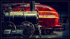 A century of development (Blaydon52C) Tags: duchess hamilton lms streamline pacific york nrm railway museum agenoria
