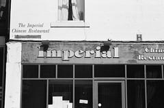 Imperial I (bigalid) Tags: film 35mm vivitar mega 200 ilford xp2 c41 bw april 2019 scotland chinese takeaway restaurant dumfries