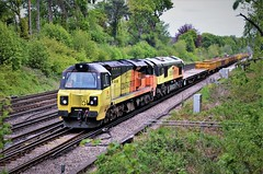 70802 & 66847 (stavioni) Tags: class70 class66 70802 66847 diesel colas rail railfreight freight train locomotive
