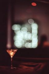 tokyo twist (doublecappuccino) Tags: leicam2 noctilux noctilux50mmf095 portra160 40thfloor tokyo japan martini twist tokyonights night