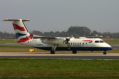 Flybe G-BRYU (Howard_Pulling) Tags: ba britishairways dhc dhc8 dhc8300