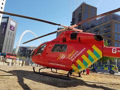 London's Air Ambulance in Wembley (kertappa) Tags: 20190513105337 air ambulance londons london hems doctor paramedics hospital glndn emergency helicopter kertappa wembley