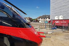 London's Air Ambulance in Wembley (kertappa) Tags: 20190513105209 air ambulance londons london hems doctor paramedics hospital glndn emergency helicopter kertappa wembley
