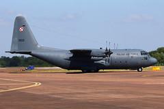Polish AF C-130E Hercules (nickchalloner) Tags: 1503 lockheed c130e c130 hercules poland polish raf fairford royal air force ffd egva international tattoo riat