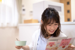 Young mother reading recipe and cooking birthday cake (Apricot Cafe) Tags: img124930 asia asianandindianethnicities healthylifestyle japan japaneseethnicity tokyojapan wellbeing affectionate anticipation beautifulwoman birthday birthdaycake bowl candid care carefree cooking copyspace day diaper diningroom domesticlife enjoyment firstbirthday happiness indoors innocence kitchen lifestyles loveemotion mother oneperson oneyoungwomanonly onlyjapanese people photography reading realpeople recipe smiling sustainablelifestyle waistup youngadult