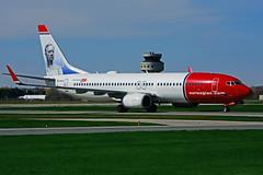 EI-FJV (Norwegian) (Steelhead 2010) Tags: norwegian boeing b737 b737800 yhm eireg eifjv