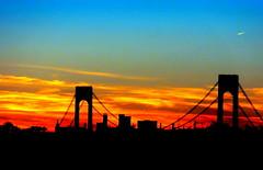 New York Sunset (dimaruss34) Tags: newyork brooklyn dmitriyfomenko image sky skyline clouds sunset
