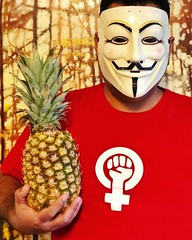 Ananas #freedom #guyfawkes #vforvendetta #feminist #feminism #freedom #womenempowerment #womensrights #prochoice #london #tokyo #tehran #ottawa #washingtondc #nyc #losangeles #chicago #paris #berlin #japan #iran #iranian #feminista #equality #equity (Taymaz Valley) Tags: freedom guyfawkes vforvendetta feminist feminism womenempowerment womensrights prochoice london tokyo tehran ottawa washingtondc nyc losangeles chicago paris berlin japan iran iranian feminista equality equity