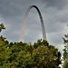 An Arch Beyond the Trees (Gateway Arch National Park)