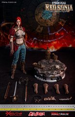 TBLeague-PHICEN PL2019-140AB Steam Punk Red Sonja - 13 (Lord Dragon 龍王爺) Tags: 16scale 12inscale onesixthscale actionfigure doll hot toys phicen tbleague seamless