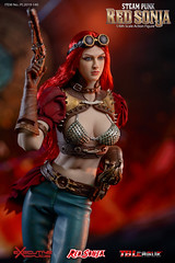 TBLeague-PHICEN PL2019-140AB Steam Punk Red Sonja - 08 (Lord Dragon 龍王爺) Tags: 16scale 12inscale onesixthscale actionfigure doll hot toys phicen tbleague seamless