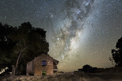 astrophotography (G Ross Photography.) Tags: astro astrophotography stars oldhouse lightpainting