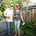gazebo building & Mother's Day weekend.. planting a sour cherry tree..