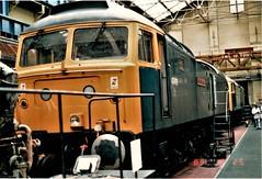47491 Receiving Attention. (ManOfYorkshire) Tags: 47491 class47 diesel loco locomotive engine britishrail railblue attention maintenance mpd depot works