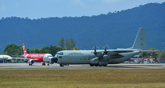 C-130H Hercules Royal Thai Air Force (phuong.sg@gmail.com) Tags: aeronautical airlift c130 combat defence force four lockheed propellers war aeroplane aerospace air airborne aircraft airforce airplane airport armed army aviation blue cargo defense delivery engines flight fly forces freight hercules jet landing langkawi lift lima logistics military plane royal thai thailand transportation weapon