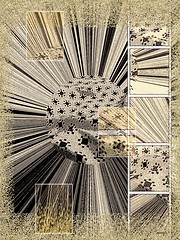 Melange (Marcia Portess-Thanks for a million+ views.) Tags: monotone patterns lines textural abstract elartedigital digitalart elarte art marciaaportess marciaportess map melange