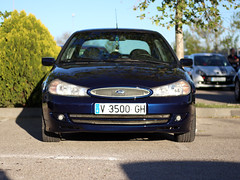 m1 (Mescola.dg) Tags: ford mondeo 24v rs 6 azul photo madrid spain españa racing