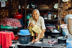 Village Woman in her Kitchen, Myanmar (AdamCohn) Tags: adamcohn burma mandalay myanmar elderlywoman home house kitchen oldwoman portrait streetphotographystreetphotographer village woman wwwadamcohncom