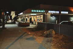 after-hours diner. (howard-f) Tags: filmlike palmsprings diner street streephotography photowalk sherman shermansdiner afterhours afterclosing nightstreet nikondf