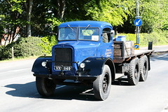 1943 Austin K6 Lorry VXS849 (davidseall) Tags: 1943 austin k6 lorry vxs849 vxs 849 truck old british goods flatbed london brighton historic commercial vehicle society run may 2019 hcvs