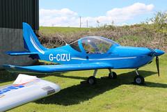 G-CIZU (GH@BHD) Tags: gcizu evektor evektoraerotechnik ev97 eurostar eurostarsl kilkeelderryogeairfield kilkeel microlight aircraft aviation