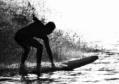 hot buttered (gro57074@bigpond.net.au) Tags: hotbuttered 2019 march f140 150600mm sport sigma d850 nikon wave surfing australia sydney bondibeach bondi guyclift monochromatic monochrome monotone mono blackwhite bw contrast surfer surf