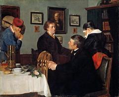 Harriet Backer - The Farewell (1878) (karadogansabri) Tags: harrietbacker art paintings 1878