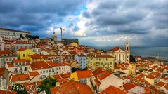 Lisbon, Portugal. (peterileypics) Tags: travel architecture portugal lisbon alfama rooftop spring holiday