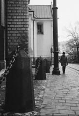 Krakow streets (TheBrokenLevee) Tags: film analog shootonfilm krakow streetphotography street agfa pentaxmesuper kodakd76 apx