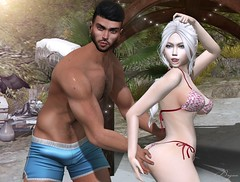 What Is This? (Bryan Trend) Tags: head lelutka guy body belleza jake hair stealthic session skin riot signature gianni slink adam male men female woman collaboration blog blogger model sl secondlife second life