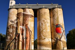 Wirrabara Silo Art, South Australia (Red Nomad OZ) Tags: wirrabara southaustralia australia silo siloart art painting outdoor southernflindersranges midnorth flindersranges country rural countryside