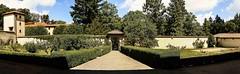 Abbazia di Vallombrosa (bellinipaolo31) Tags: fc3911 vallombrosa toscana italia abbaziadivallombrosa giardino panoramica