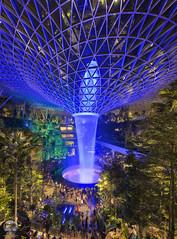 Rain Vortex Light & Sound show   Jewel Changi Airport (kenneth chin) Tags: 星耀樟宜 nikon d850 nikkor 1424f28g yahoo google waterfall changi singapore jewel attraction landmark hsbcrainvortex changiairport