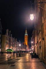Gdansk at night (Vagelis Pikoulas) Tags: gdansk poland europe travel night nightscape city cityscape urban holidays architecture light lights lightroom street canon 6d sigma 35mm f14 art