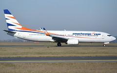OK-TSH, Boeing 737-804(WL), 28231 / 538, Smartwings, CDG/LFPG 2019-02-17, taxiway Delta. (alaindurandpatrick) Tags: 737 738 737800 737nextgen boeing boeing737 boeing737800 boeing737nextgen jetliners airliners smartwings qs tvs skytravel airlines cdg lfpg parisroissycdg airports aviationphotography oktsh 28231538