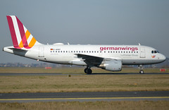 D-AKNT, Airbus A319-112, c/n 2607, Germanwings, CDG/LFPG, 2019-02-17, taxiway Delta. (alaindurandpatrick) Tags: 4u gwi germanwings airlines airliners jetliners a319 a319100 airbusa319 airbusa319100 microbus cdg lfpg parisroissycdg airports aviationphotography daknt cn2607