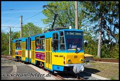 309-2019-04-25-2-Gleisdreieck (steffenhege) Tags: thüringerwaldbahn gotha überlandbahn strasenbahn streetcar tram tramway tatra kt4dc ckd 309