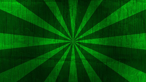 Green Sunbrust Background (Free to use)