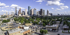 1911 Washington-Houston Skyline-Mabry Campbell (Mabry Campbell) Tags: 1911washington 2019 dji hff harriscounty houston mabrycampbell may texas usa washingtonavenue aerial building downtown image photo photograph skyline