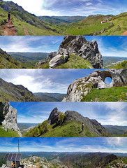 Ascenso a Peña Mea (diegocarreraperez) Tags: montaña mountain senderismo montañismo senda camino paisaje panoramic picture naturaleza nature picos europa europe asturias asturies sky cielo peña mea laviana llaviana pola ojo roca rock