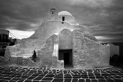 (cherco) Tags: woman greece mykonos church solitario solitary silhouette silueta street shadow sombra stairs suelo sky alone architecture arquitectura aloner arch arco adoquinado lonely light luz lines loner blackandwhite blancoynegro monochrome momento curves imposible
