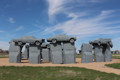 Carhenge in western Nebraska (Hazboy) Tags: hazboy hazboy1 alliance nebraska cars car coche carhenge april 2019 auto automobile