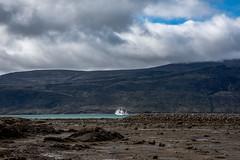 Pangnirtung, Nunavut (helenglazer) Tags: akademiksergeivavilov arctic baffinisland canada connecticut nunavut pangnirtung places transportation ship usa
