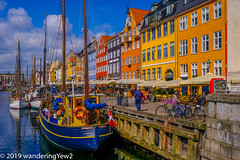 EuropeSpring2019-0191 (wanderingYew2 (thanks for 4M+ views!)) Tags: copenhagen denmark fujixpro2 københavn nyhavn
