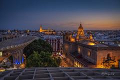 Sevilla. Plaza de las Setas. (angelrm) Tags: sevilla españa seville spain plazadelassetas sony