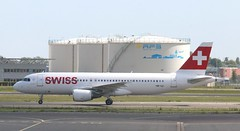 HB-IJJ Swiss Airbus A320-214 AMS 130519 (kitmasterbloke) Tags: aircraft aviation transport outdoor europe jet schiphol ams amsterdam