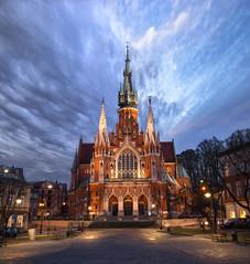 Iglesia de San José, Cracovia. (Ál Men-chez) Tags: polonia cracovia iglesia de san jose neogotico
