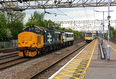 Colchester arrivals (Chris Baines) Tags: drs 37402 with ga 90009 norwich crown point crewe class 321 clacton service